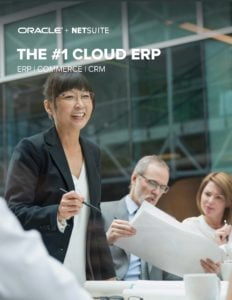 NetSuite, brochure, cloud ERP, Terillium, Oracle