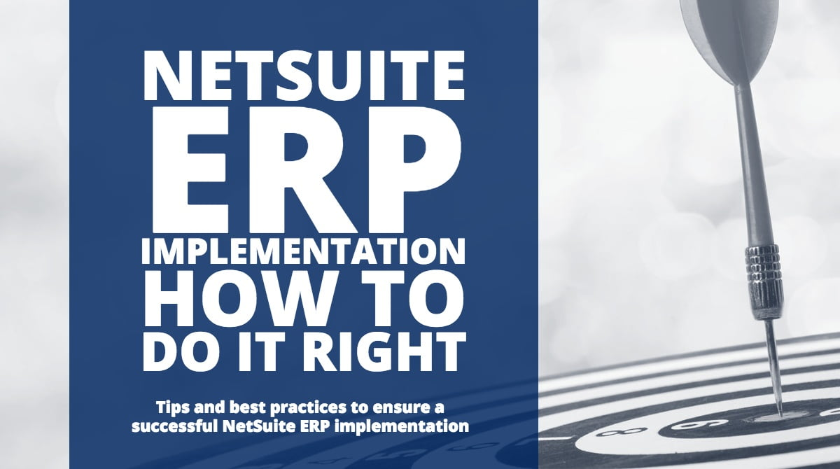 NetSuite Implementation Best Practices, netsuite consulting