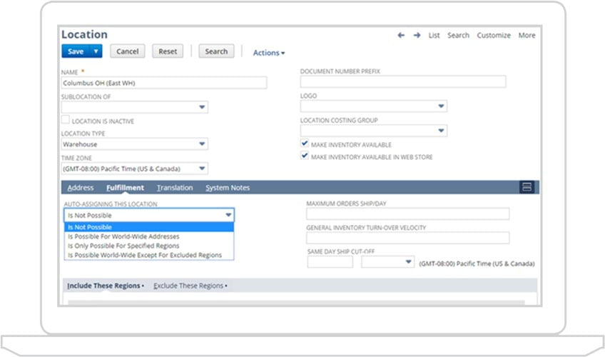Order Management NetSuite