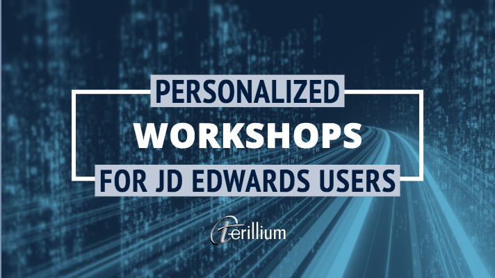 jd edwards workshop