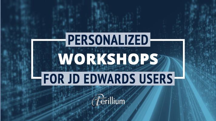 jd edwards workshop