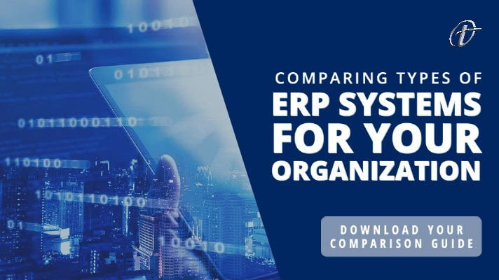 types of erp systems