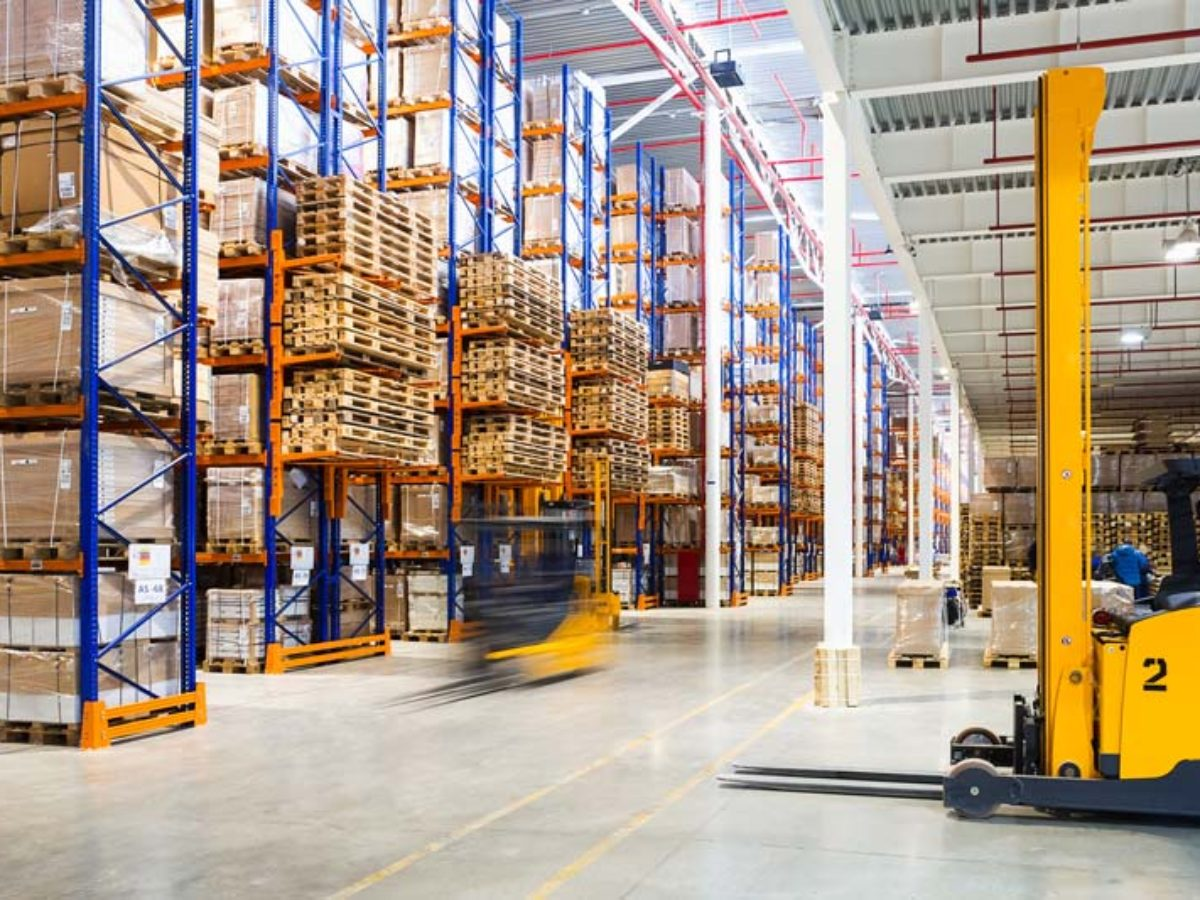 warehouse with supply and demand planning